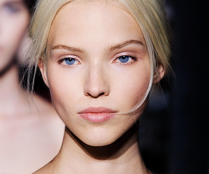 model, sasha luss, and blonde image