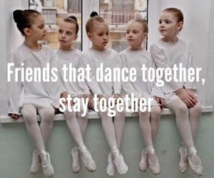 friends, dance, and ballet image