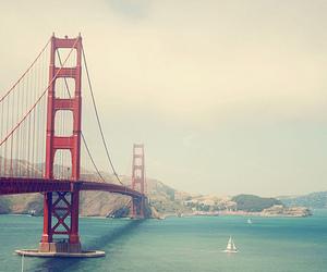 bridge, san francisco, and california image