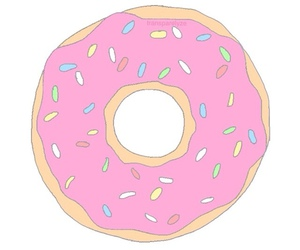 colors, food, and donut image