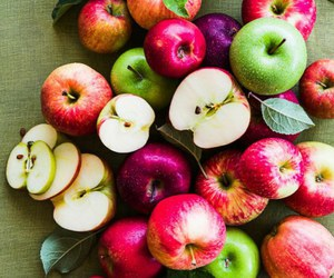 apple, food, and fruit image