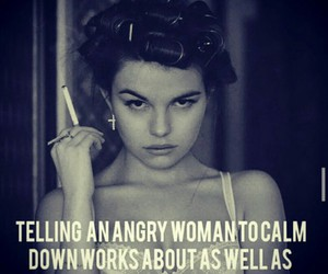 woman, funny, and quotes image
