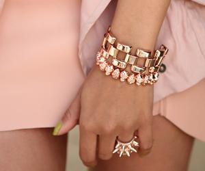 bracelet, fashion, and ring image
