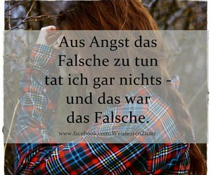 angst, quotes, and falsch image