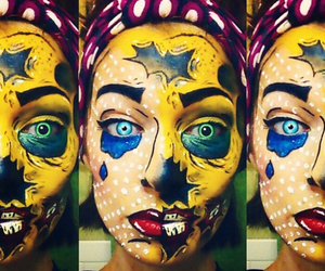 body paint, body painting, and face paint image