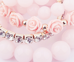 pink, accessories, and bracelet image