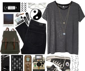 cool, Polyvore, and style image