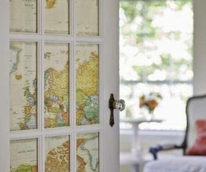 door, map, and diy image