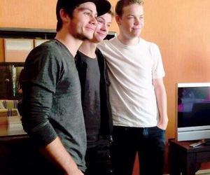 dylan o'brien, will poulter, and the maze runner image