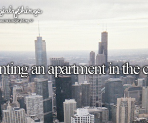 city, apartment, and Dream image