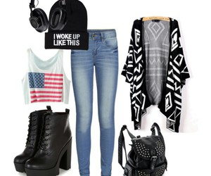 clothes, Polyvore, and ootd image