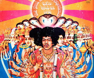 60s, jimi hendrix experience, and axis bold as love image