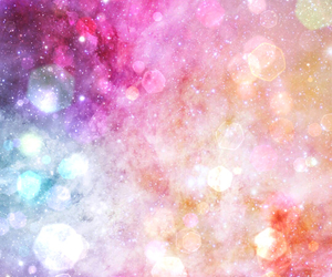 background, sparkles, and galaxy image