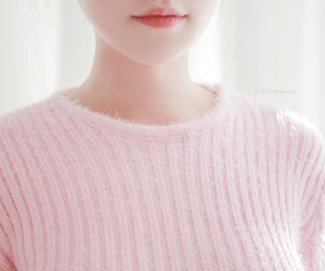 fashion, jumper, and pink image