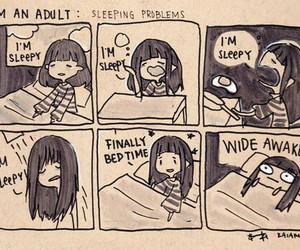 sleep, funny, and sleepy image