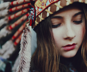 girl, indian, and photography image