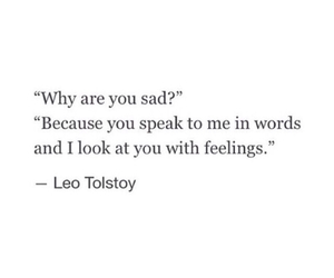 sad, feelings, and quotes image