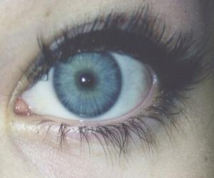 eyes, grunge, and blue image