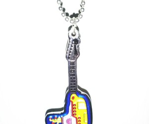 accesories, guitar, and the beatles image