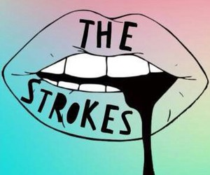 the strokes, band, and indie image
