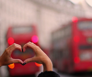 city, heart, and england image