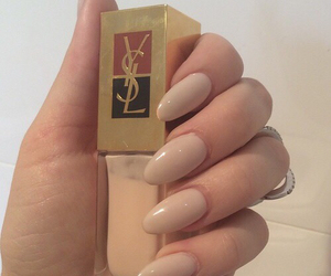 nails and Yves Saint Laurent image