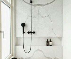 bathroom, chic, and home decor image