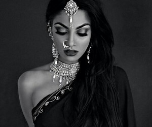 indian, india, and beauty image