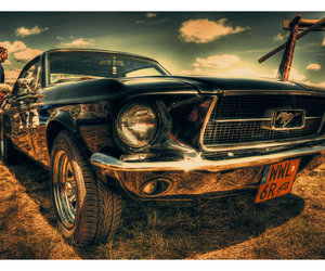 car, mustang, and ford image