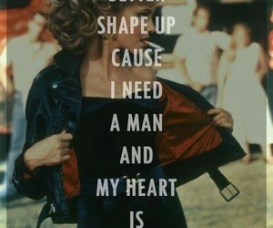 grease, Sandy, and heart image