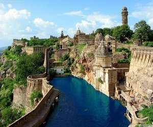 india, travel, and castle image