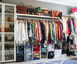 clothes, shoes, and bag image