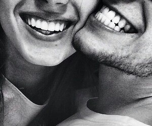 smile, love, and couple image