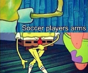 fit, football, and funny image