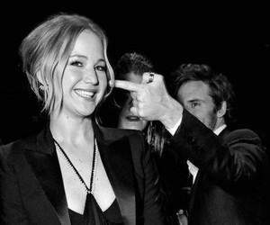 Jennifer Lawrence and sam claflin image