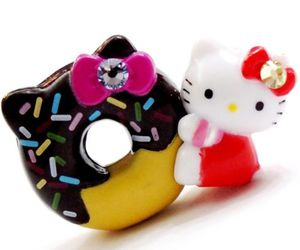 charm, crystal, and donut image