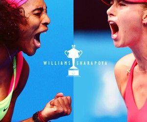 Maria Sharapova, Serena Williams, and sports image