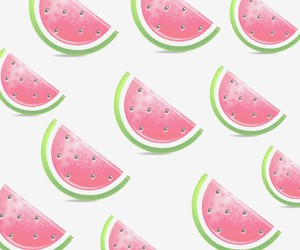 wallpaper, pink, and watermelon image
