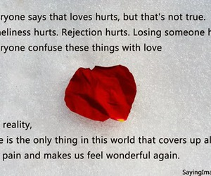 love hurts, quote, and quotes image