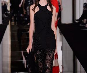 black, fashion, and haute couture image