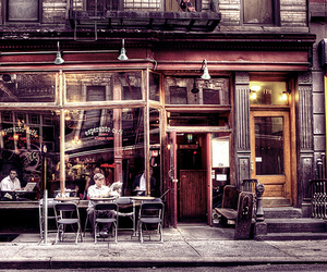 awesome, cafe, and city image
