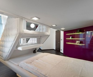 platform bed, bunk beds for adults, and loft bed for adults image