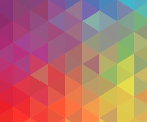 color, design, and triangle image