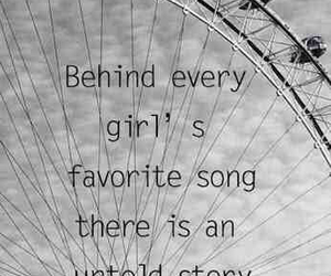 girl and song image
