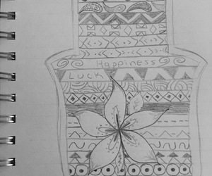 aztec, doodle, and drawing image