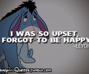disney, eeyore, and quote image