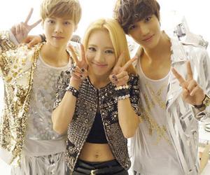 kai, hyoyeon, and luhan image