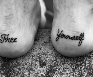 tattoo, free, and feet image