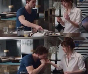love, christian grey, and fifty shades of grey image