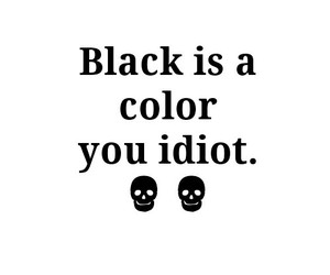 black, color, and clothes image